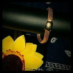 Monet bracelet Beautiful monet bracelet. Gold plated, very durable.. Jewelry Bracelets