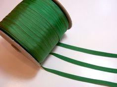 Schiff Green Grosgrain Ribbon 3/8 inch wide x 288 yards, Green Ribbon, 2 Gross #Schiff