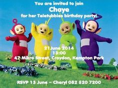 Teletubbies Party