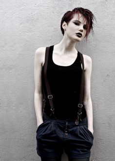 The androgynous look is really appealing.