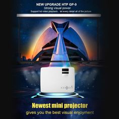 Led Projector Full HD projeksiyon Mini Pico portable Projector HDMI Home Theater beamer multimedia projector Full HD 1080P video