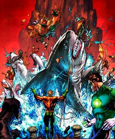 Just Aquaman.....being awesome?