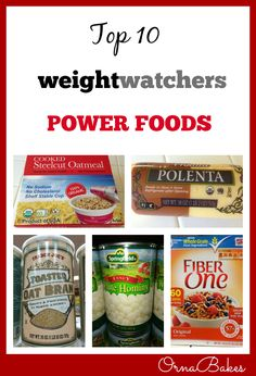 Top 10 Weight Watchers Power Foods