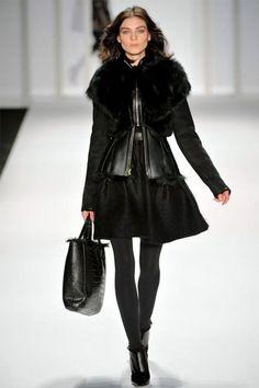 All Black - J. Mendel Fall 2012 | New York Fashion Week