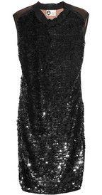 All shapes and sizes... LanvinSheer-back paillette-embellished silk dress
