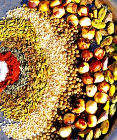 Spice mixes are like folk songs. It is rare to find two identical versions. That is the fluid nature of music and food. Ask two Yemenite grandmothers for their Hawaij recipe and you will probably g… Spice Blends, Spice Mixes, Vegan Gluten Free, Paleo, Shawarma Spices, Egyptian Food, Homemade Spices, Coriander Seeds