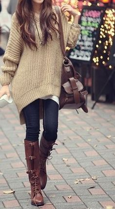 Love this look! The boots are fantastic!