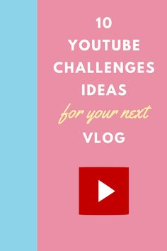 Social Media Challenges, Challenges To Do, Youtube Hacks, You Youtube, Youtube Challenges Ideas, Vlog Tips, Youtube Vloggers, Marketing Software, Marketing Ideas