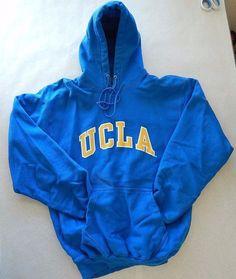 UCLA Hoodie Bruins Hooded Sweatshirt Size Medium College Football NCAA #SteveandBarrys #UCLABruins