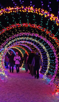 This is what 3.5 million Christmas lights looks like! Clifton, Ohio (population 200) is home to one of the largest water powered gristmills still in existence, and it's the unlikely setting for one of the country's coolest holiday light displ