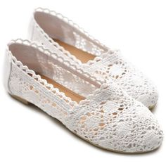 Amazon.com: Ollio Womens Lace Ballet Flats Loafers Floral Slip-on Low Heels Shoes: Shoes