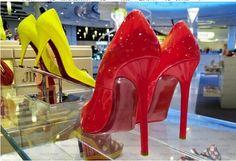 2014 New European and American Hollywood Brand Red Bottom Heels Full Grain Leather Shoes Patent Pumps Women's Pointed  $69.00 @digitalphoto101 @abrcrmbieblnde @vien73 @violetnikki @victoriagal11 @violetnikki