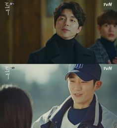"""[Spoiler] """"Goblin"""" Gong Yoo sees Jeong Hae-in, """"So handsome"""", thinks Lee Dong-wook is Kim Go-eun-I's father"""