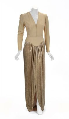 Gorgeous vintage gowns on pinterest joan crawford george hurrell
