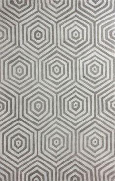 nuLOOM Hand Tufted Wool Pamela Rug | Contemporary,Trellis Rugs