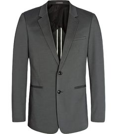 A bit of retro chic, with an evening jacket style ribbing on the pockets. Makes me think of the Rat Pack...    And what good thoughts.