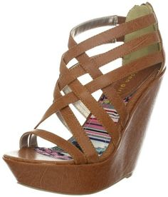 Amazon.com: Madden Girl Womens Reeds Wedge Sandal: Shoes