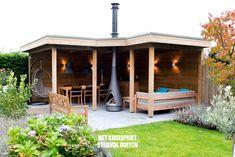 Backyard Plan, Backyard Gazebo, Backyard Landscaping, Back Gardens, Outdoor Gardens, Outdoor Garden Bar, Summer Sheds, Outdoor Spaces, Outdoor Living
