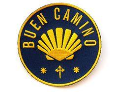 "Camino De Santiago ""Buen Camino"" Pilgrim Cloth Patch"