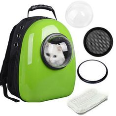 ea838f5e23b0 Costway Astronaut Pet Cat Dog Puppy Carrier Travel Bag Space Capsule  Backpack Breathable - Walmart.com