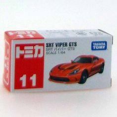 Takara Tomy Tomica Series  No. 11 SRT Viper GTS Japan #TAKARATOMY