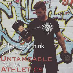 When you think you are Untameable You be Athletics . Fitness Motivation Quotes, Calisthenics, Athletics, Body Weight, Fitspo, Thinking Of You, Motivational Quotes, Fitness Models, Feelings