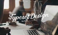 Typeset Design