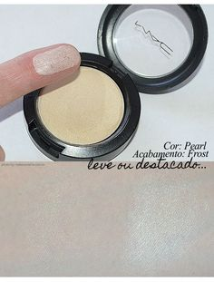 Makeup  - MAC cream color base in Pearl  ♥ One of the best and most oft-recommended natural looking highlighters on the market. Has zero visible shimmer/glitter and perfect for day or night wear. I would definitely recommend this.