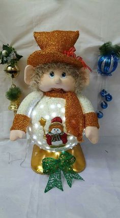 Holiday Ornaments, Christmas Crafts, Elves And Fairies, Projects To Try, Fairy, Teddy Bear, Toys, Chocolates, Animals