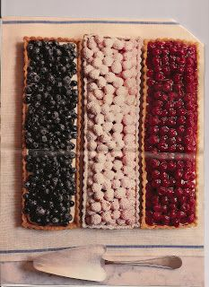 Martha Stewart's Bastille day party