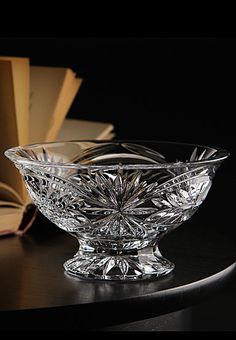"""Waterford Tracy 6 1/2"""" Footed Bowl"""