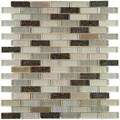 Halcon - mozaiki dekoracyjne CM002 CRISTAL METAL Gloss 30x30