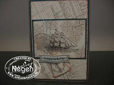 Nog een mannenkaart...By Atelier Negen