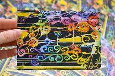Rain-Bow Postcard