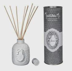 Difusor perfume --> http://www.darome.es/productos/perfume-ambiente/  #darome #mathildem #difusorperfume #perfumeambiente #mikado #secret #clairdelune #deco