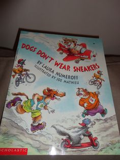 Dogs Don't Wear Sneakers Childrens Book find me at www.dandeepop.com