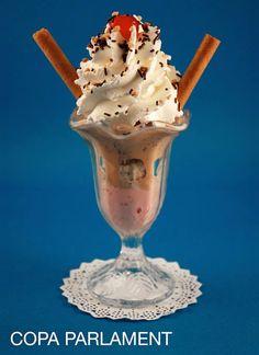 COPA PARLAMENT #helado #icecream #delicious #parlament56 #horchata #orxata #horchateriasirvent #orxateriasirvent #balmes130 #granizados http://turronessirvent.com/