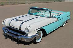 Vintage Autohaus is proud to present this 1956 Pontiac Star Chief Convertible. This car came from a California collection and has had a complete professional restoration. General Motors, Vintage Cars, Antique Cars, Vintage Ideas, Retro Cars, Pontiac Star Chief, Volkswagen, Pontiac Cars, American Classic Cars