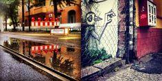 BAUSTELLENSTADT BERLIN - Manchmal ist es gar nicht so einfach vor lauter Baustellen und Fanmeilen die Lücke im Verkehr zu finden. Dabei sehen die mit einem iPhone 4 und den Apps ProCamera und Instagram gemachten Fotos nun wirklich nicht nach Chaos aus.