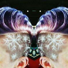 Snowflake shaved design - New Hair Design Undercut Hairstyles Women, Undercut Long Hair, Undercut Women, Funky Hairstyles, Side Shave Design, Undercut Hair Designs, Shaved Hair Designs, Hair Inspiration, Hair Inspo