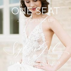 One seat just opened up for the 2017 photography workshop we are styling for @sylviegil! This is your chance to join our amazing team in France. This will be our only workshop in 2017, with incredible leaders in the industry: planning & design @fireflyevents -business strategist @shannaskidmore - floral design @floresie -production designers @wanderlustwedding - paper design @yonderdesign - calligraphy @plumecalligraphy - hair & makeup by #marina_littlemissmakeup - media sponser…