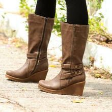 59 Seconds - Wedge Tall Boots