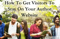 Every author website needs an engaging landing page with a clear call-to-action to encourage visitors to linger and become fans. Website Web, Call To Action, I Site, Software, Encouragement, Career, Web Design, How To Get, Author