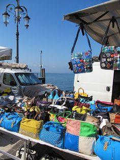 Het Gardameer in Italië: Marktjes aan het Gardameer