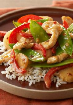 Firecracker Chicken Stir-Fry – Ready for the dinner table in just 20 minutes, this easy recipe is almost as good-looking as it is delicious!