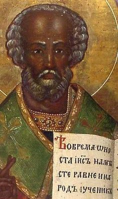 Santa Claus was a Black Muurish European Nicholas, was probably born during the third century in the village of Patara, in what is now the southern coast of Turkey. He was born of very wealthy ethnic black Anatolians of the ancient Roman Empire. He was one of those ancient and dominant black Muurs of Europe that you only fleetingly come across in today's western history, because the Gothic Europeans would hide the true Muurish history in Europe.