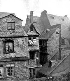 Fahrgasse old frankfurt c. 1880