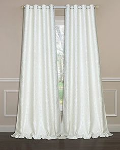 Laura Ashley Florence  84L Panel Pair Ivory >>> Click on the image for additional details. (This is an affiliate link and I receive a commission for the sales)