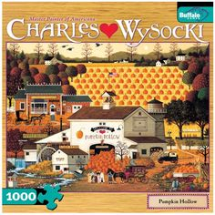 Series by Master Painter of Americana, Charles Wysocki. For more than 40 years Charles Wysocki enjoyed his love affair with life and Americana, and through his imaginative and colorful artwork touched the hearts of millions worldwide.
