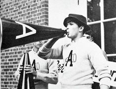 Former president George W. Bush was the head cheerleader for Phillips Academy Andover in Massachusetts